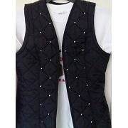 Body Warmer with Jewels