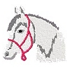 Embroidered Horse Logo